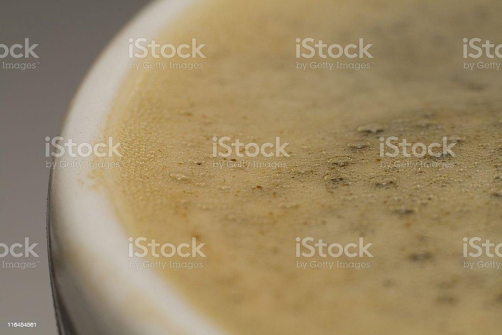 Coffee. Macro. royalty-free stock photo