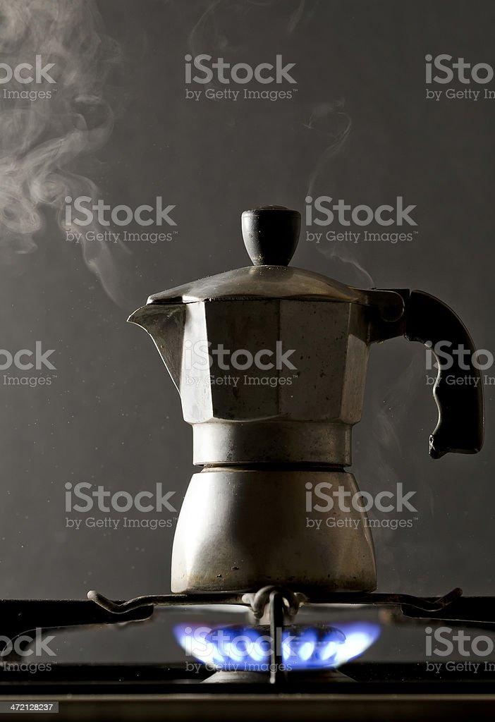 Coffee maker stock photo