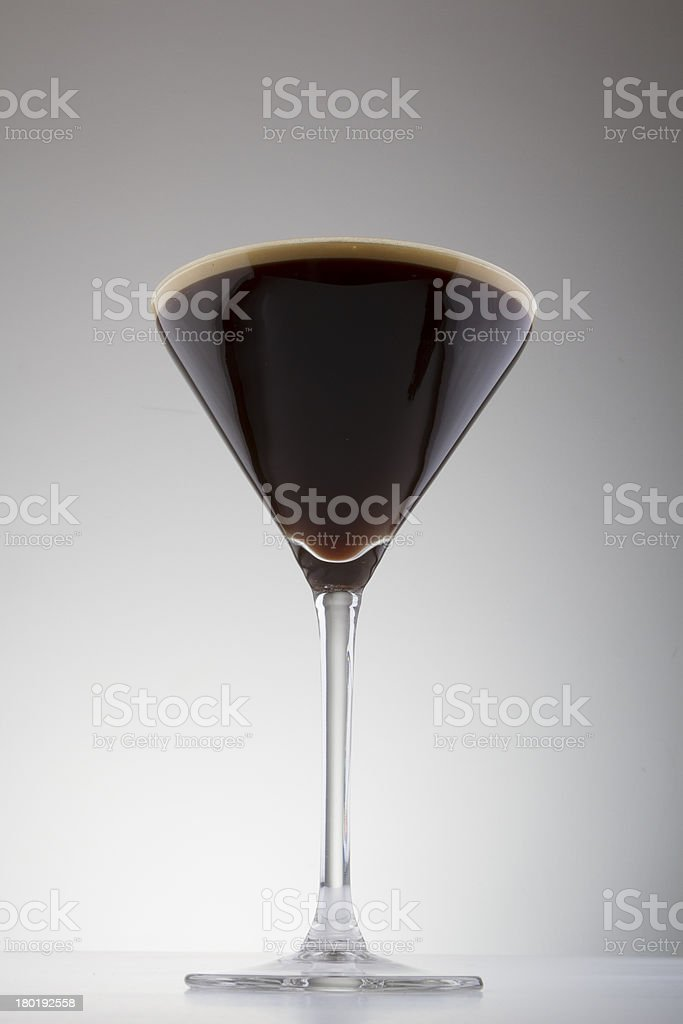 Coffee Martini royalty-free stock photo