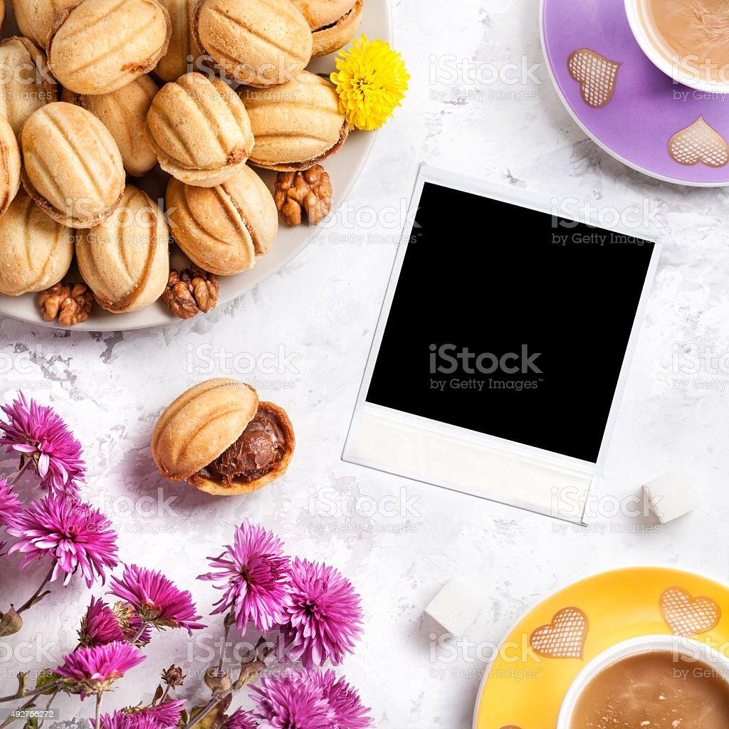 Coffee memories stock photo