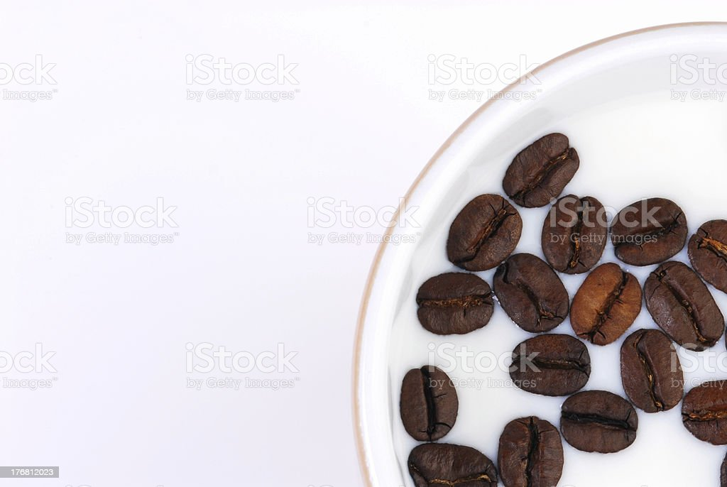coffee milk royalty-free stock photo