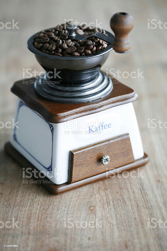 coffee mill royalty-free stock photo