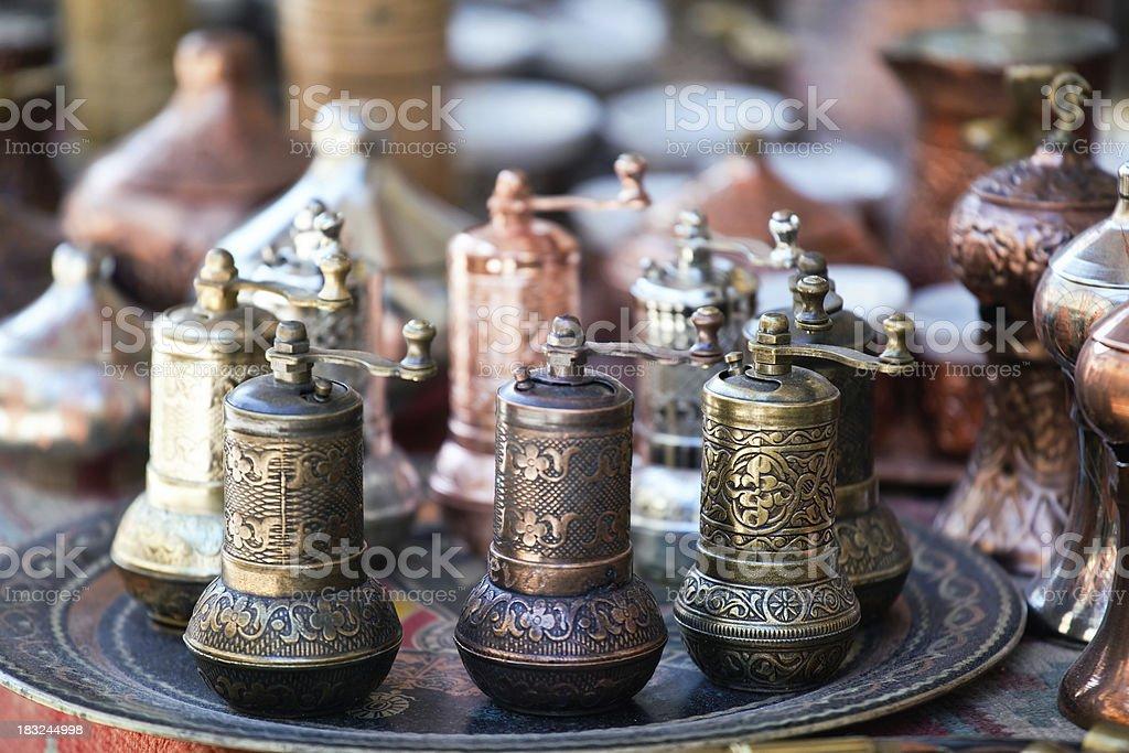 Coffee mills royalty-free stock photo