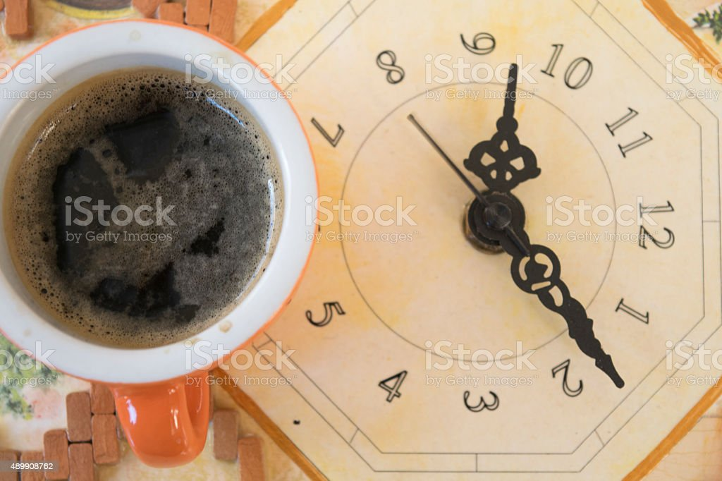 coffee moment stock photo