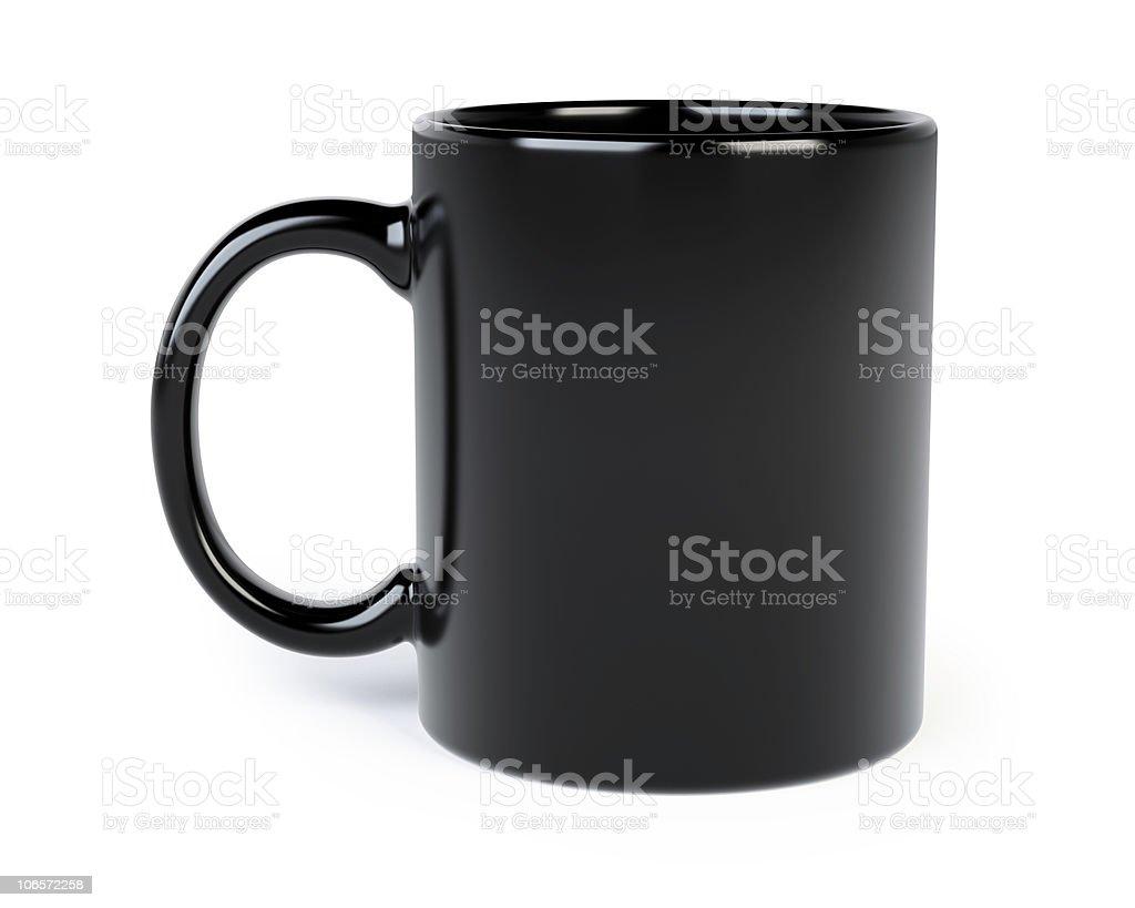 coffee mug isolated stock photo