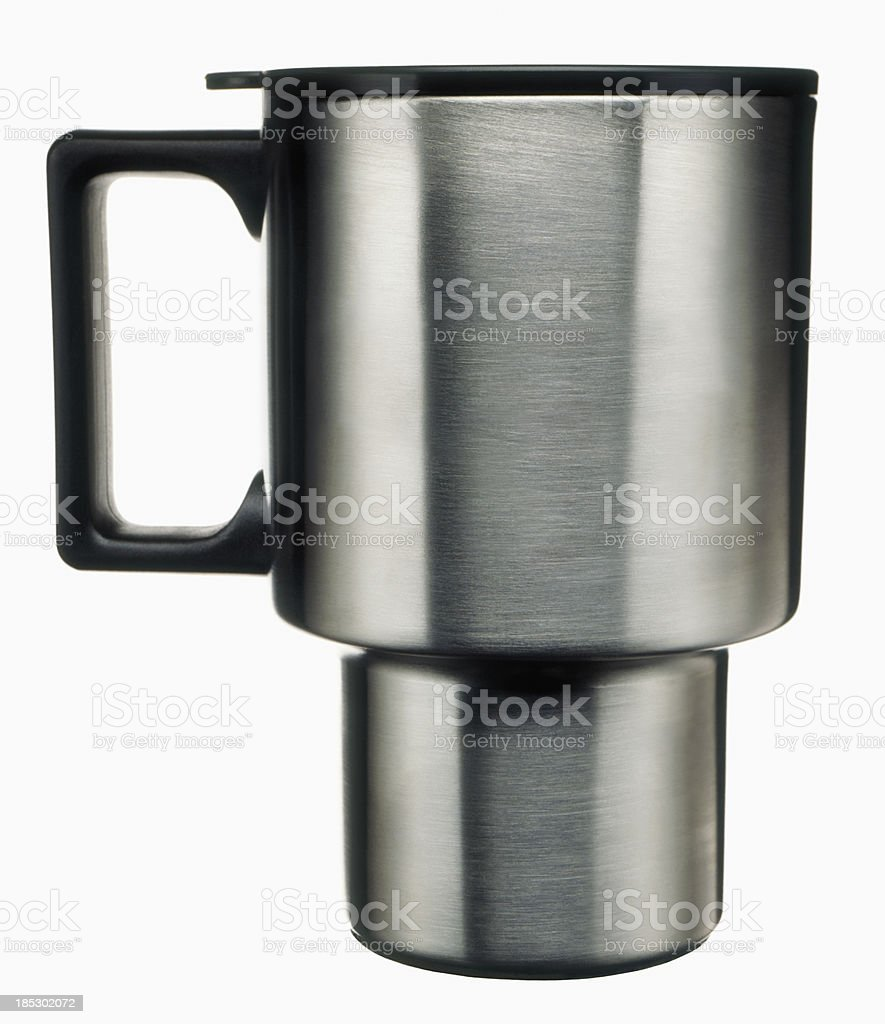 Coffee Mug on white royalty-free stock photo