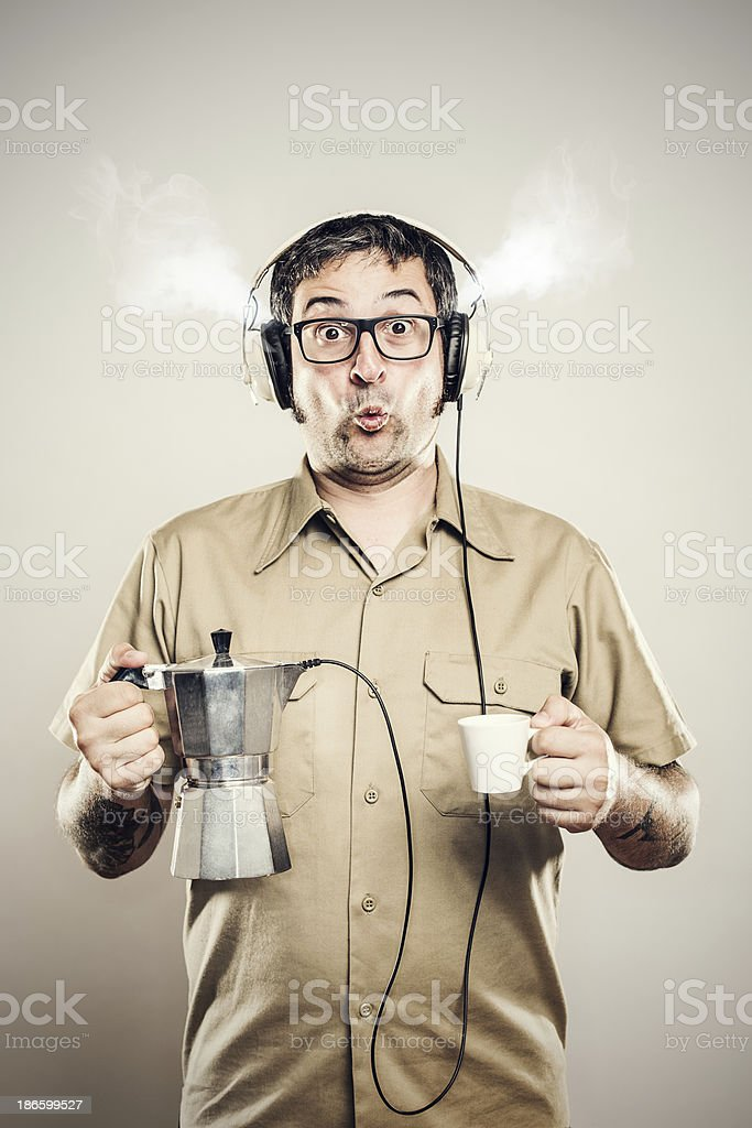 Coffee Music royalty-free stock photo