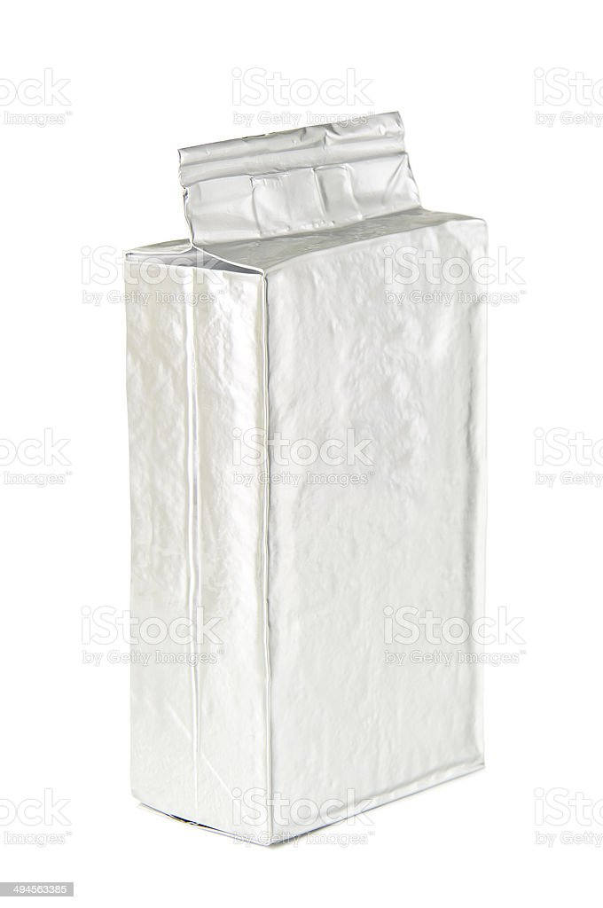 coffee packaging stock photo