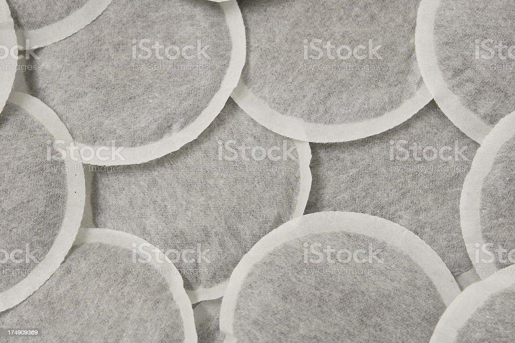Coffee Pads stock photo