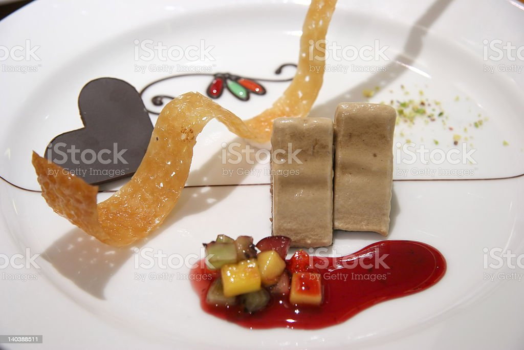 Coffee Parfait royalty-free stock photo