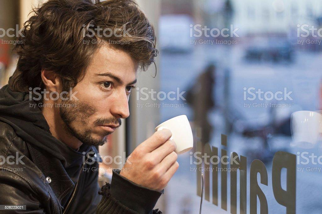 Coffee Pause stock photo