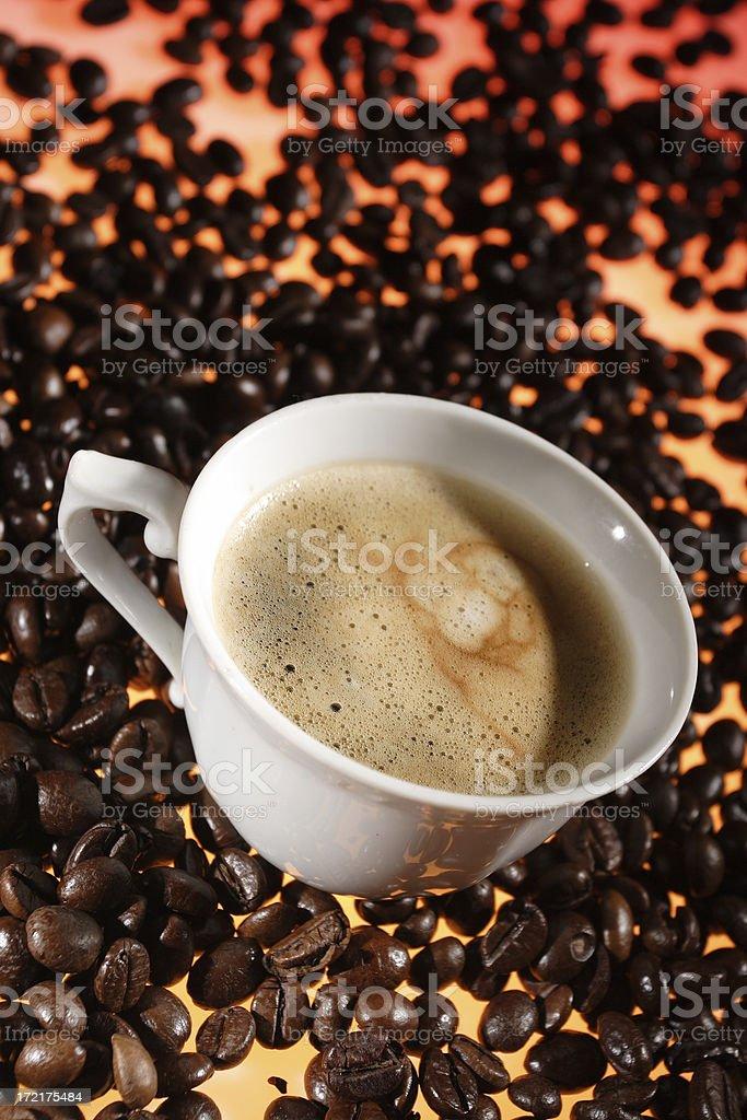 Il caffè foto stock royalty-free