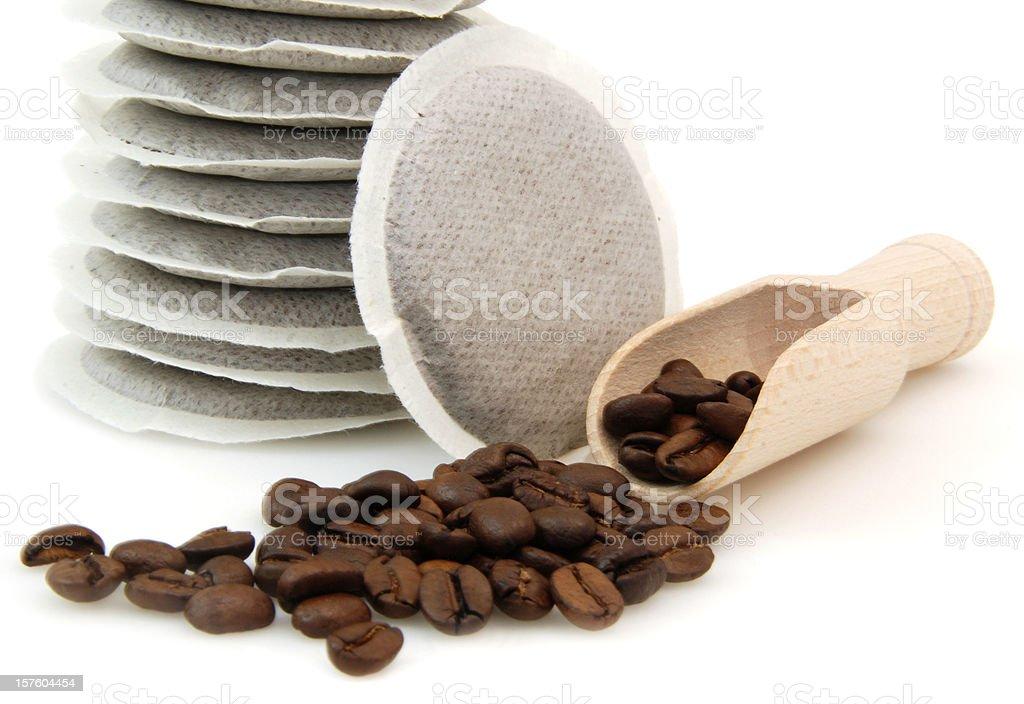 Coffee pod royalty-free stock photo