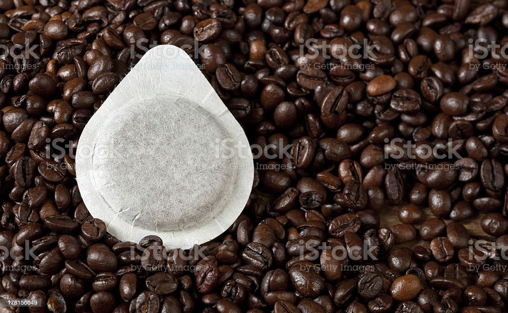 Coffee pods stock photo
