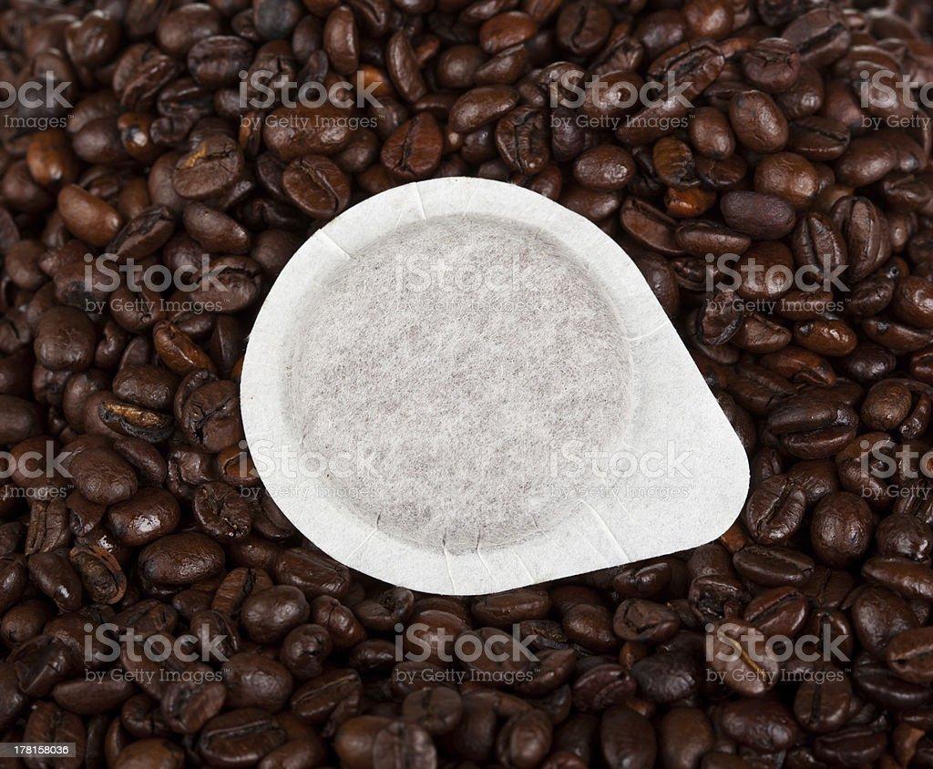 Coffee pods stock photo