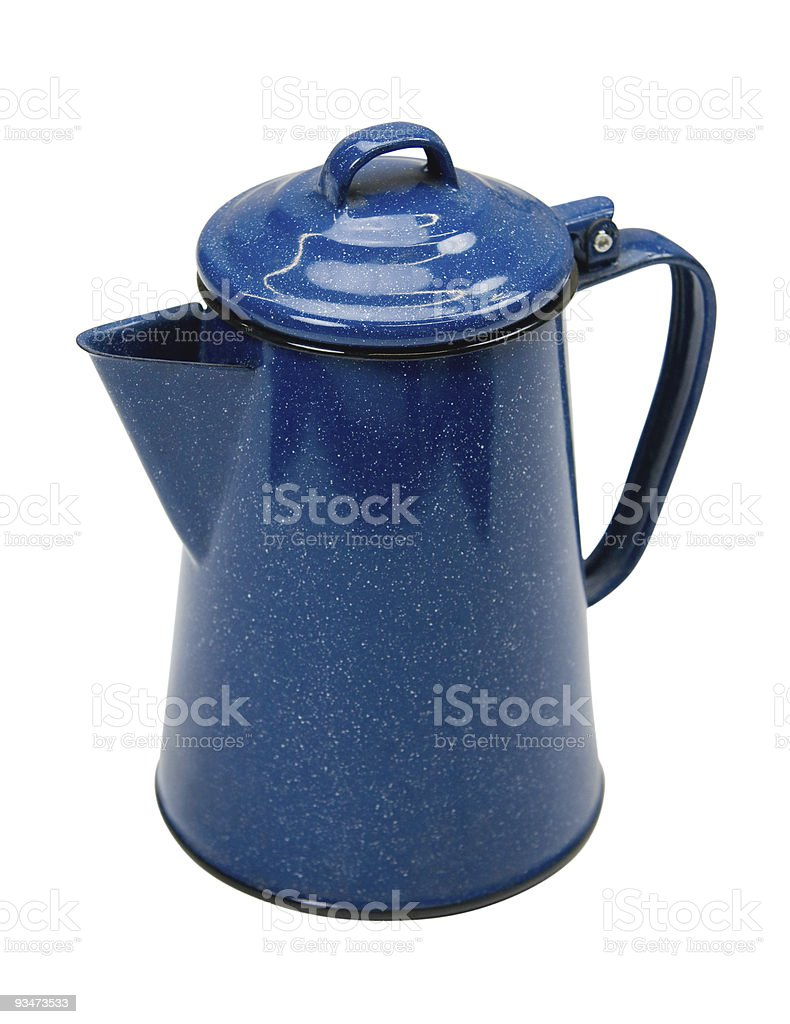 Coffee Pot w/Clipping Path royalty-free stock photo