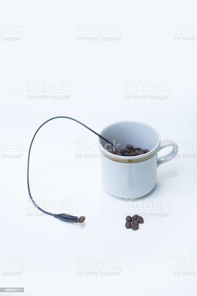 coffee science royalty-free stock photo