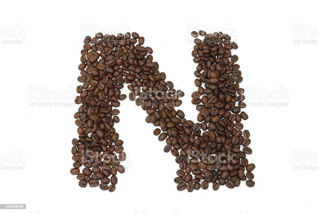 coffee seed royalty-free stock photo