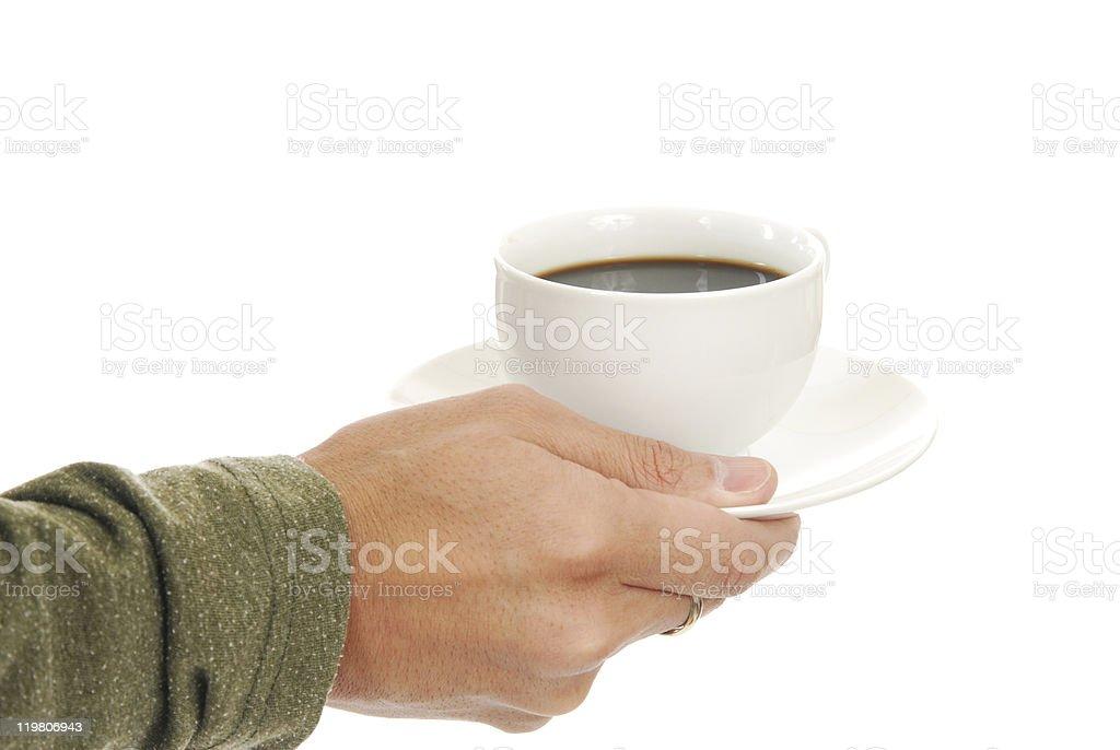 Coffee Service stock photo