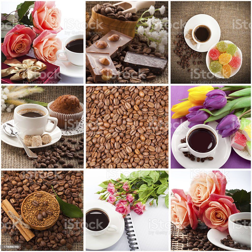 coffee set, royalty-free stock photo