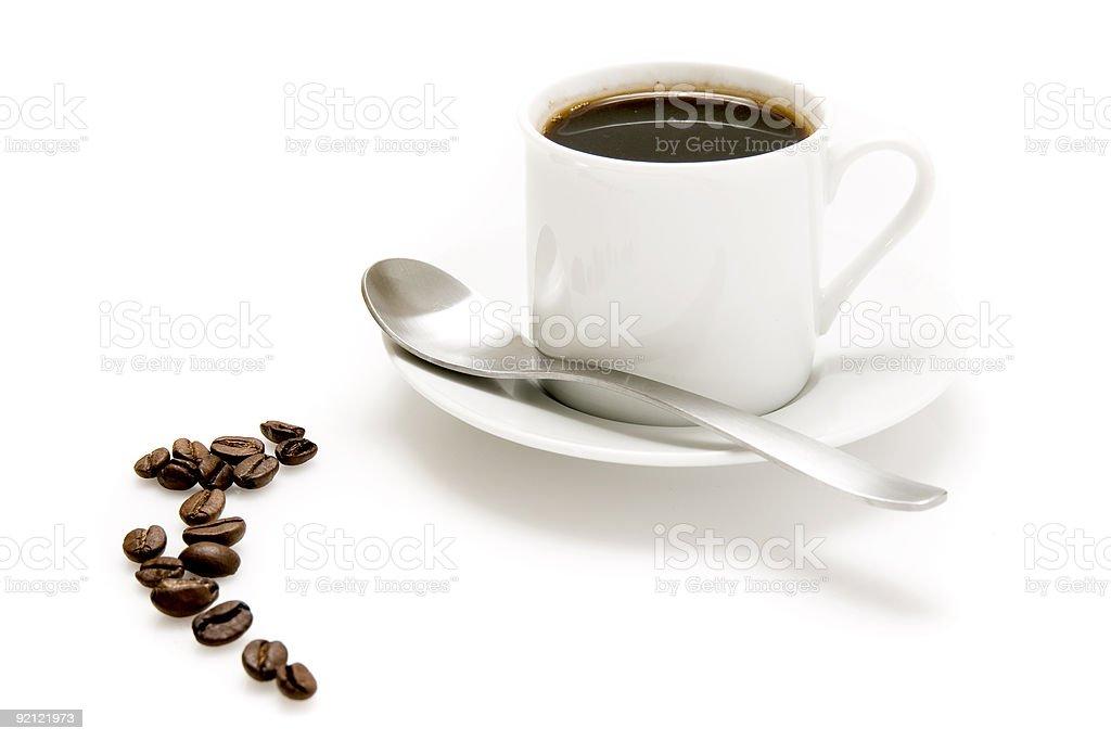 Kawa ustawienie zbiór zdjęć royalty-free