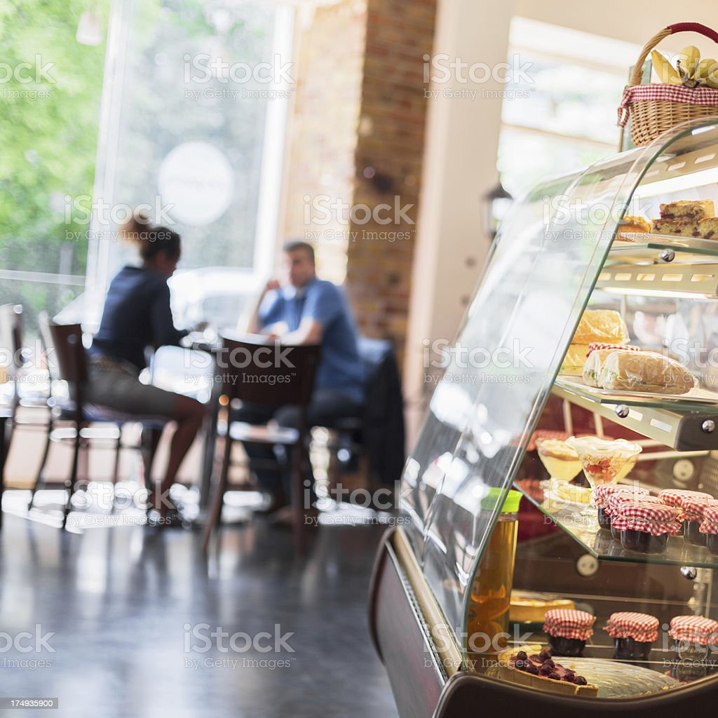 Coffee Shop in Berlin, Germany royalty-free stock photo