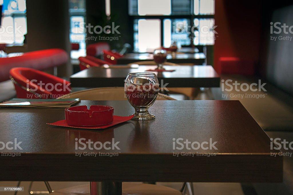 Caffetteria interno foto stock royalty-free