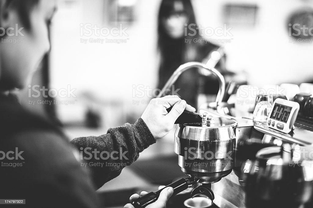 Coffee Shop Latte royalty-free stock photo