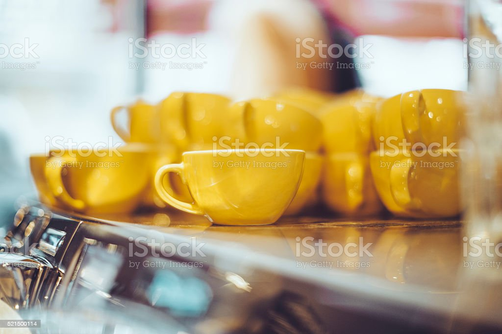 Coffee shop stock photo