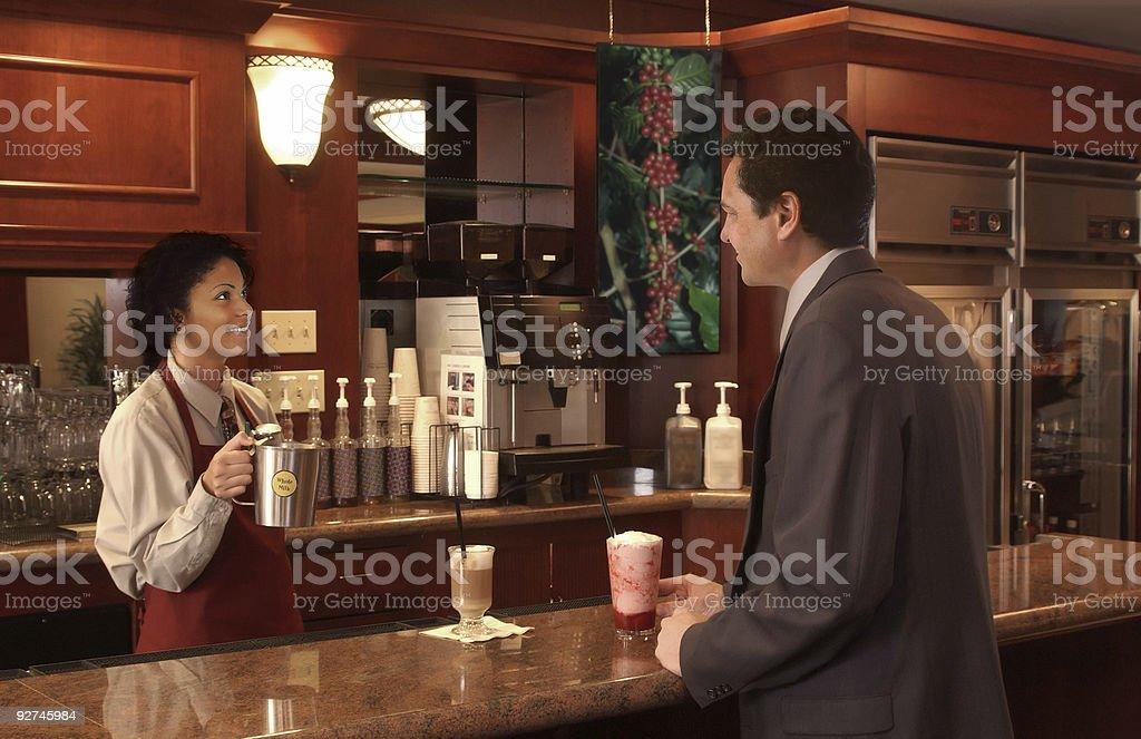 coffee shop royalty-free stock photo