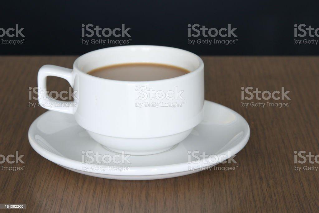 coffee short focus royalty-free stock photo