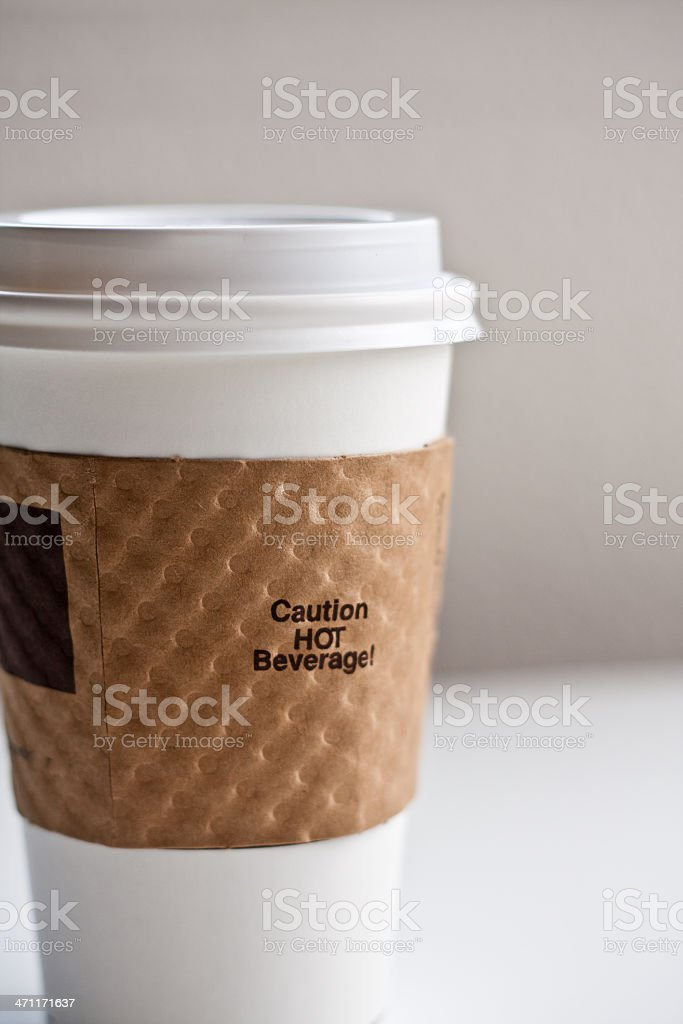 Coffee Sleeve royalty-free stock photo