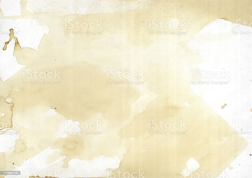 coffee smudge grunge paper 04 royalty-free stock photo