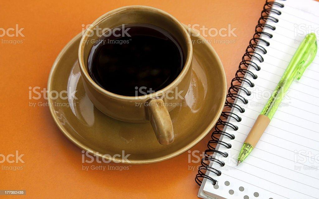 Coffee, soft drinks. stock photo