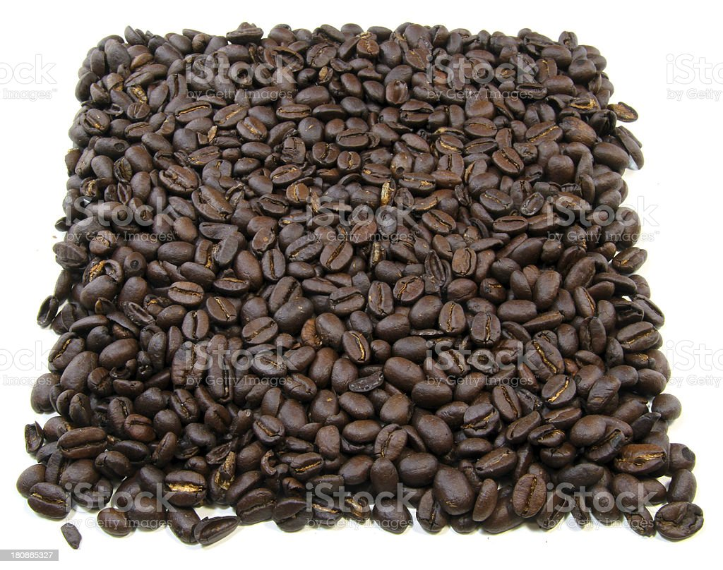 Coffee Square royalty-free stock photo
