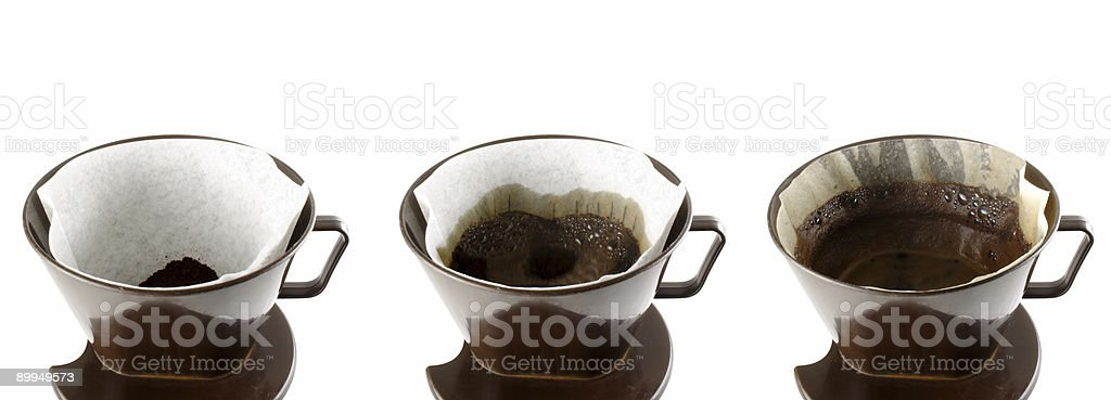 Coffee stages royalty-free stock photo