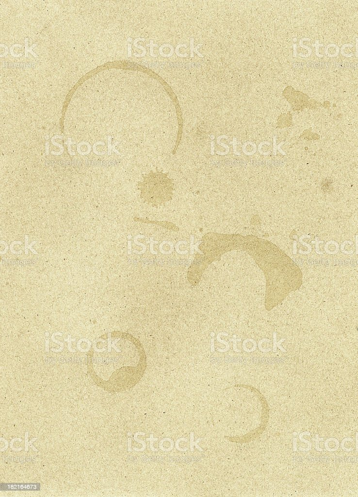Coffee Stains 1 (XXL) royalty-free stock photo