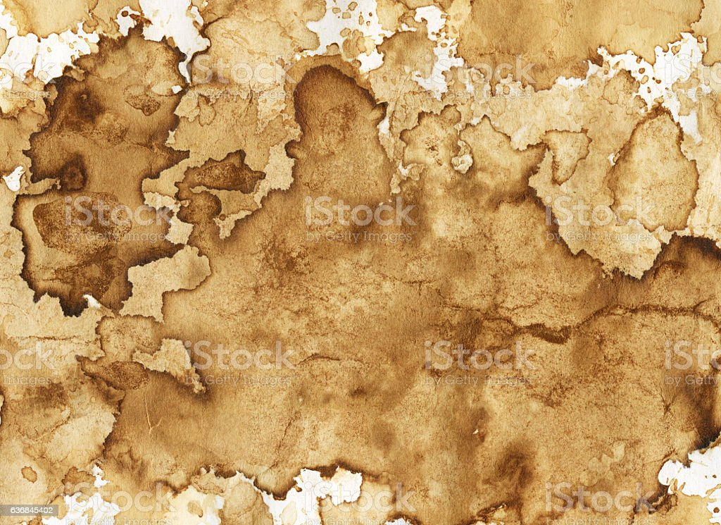 Coffee stains background stock photo