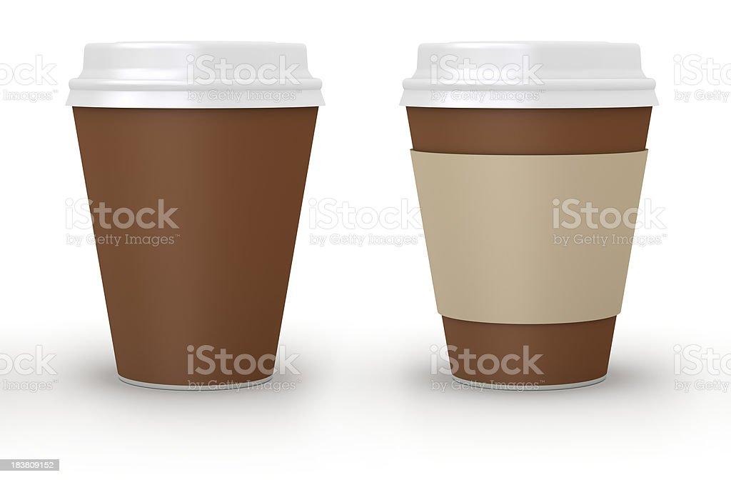 Coffee take-out royalty-free stock photo