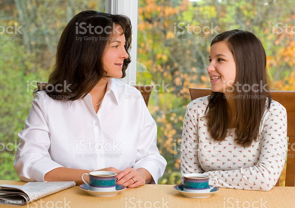 Coffee Talk royalty-free stock photo