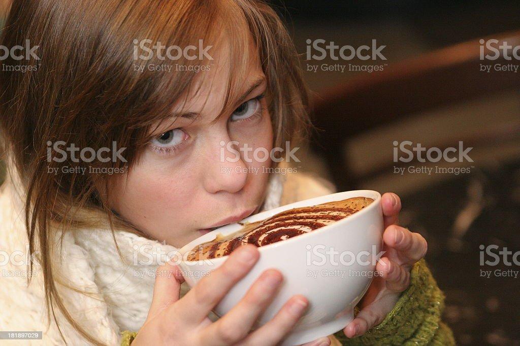 Coffee Taste royalty-free stock photo