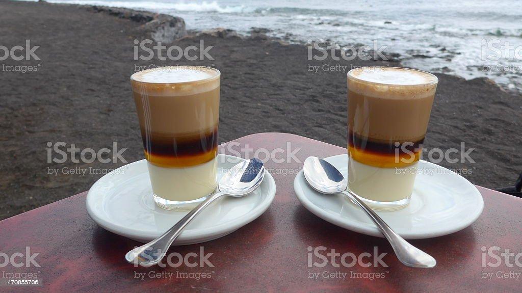 Tiempo de café foto de stock libre de derechos