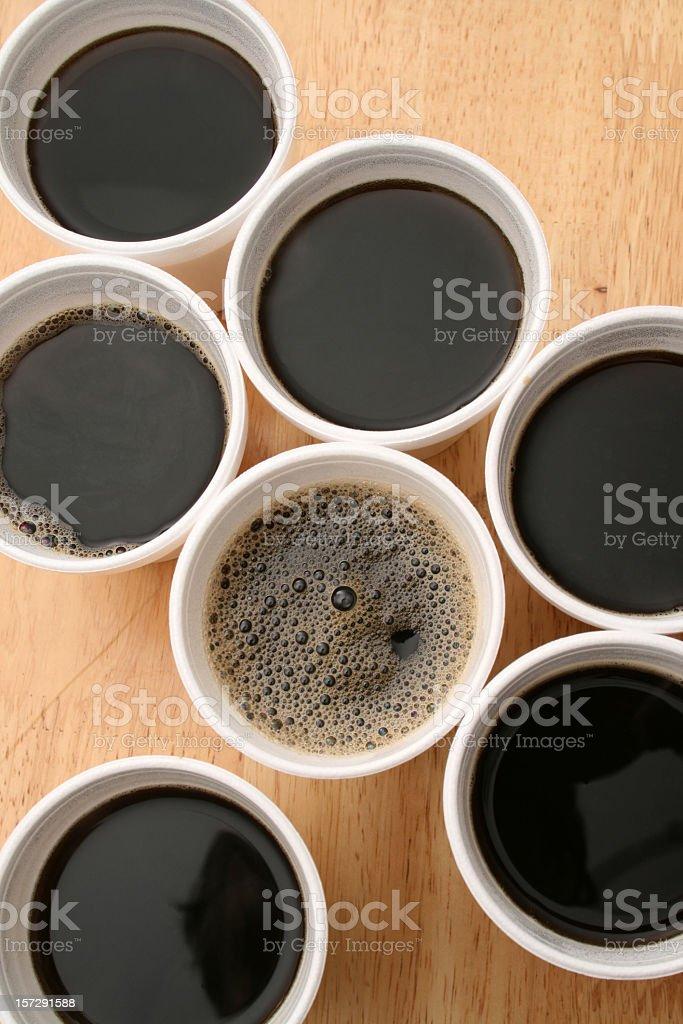 Coffee to go royalty-free stock photo