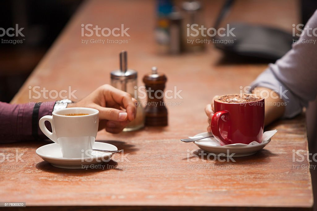 Coffee Together stock photo