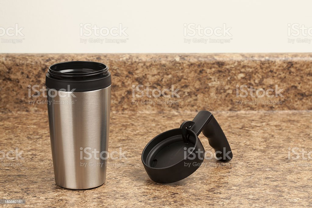 Coffee Travel Mug stock photo