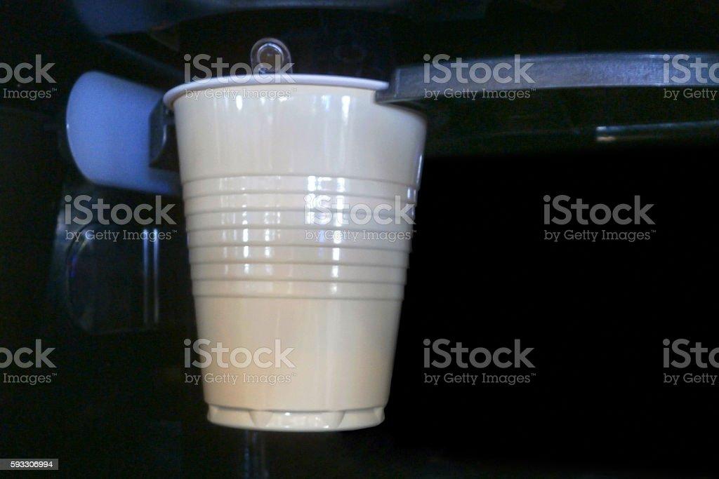 Coffee vending machine stock photo