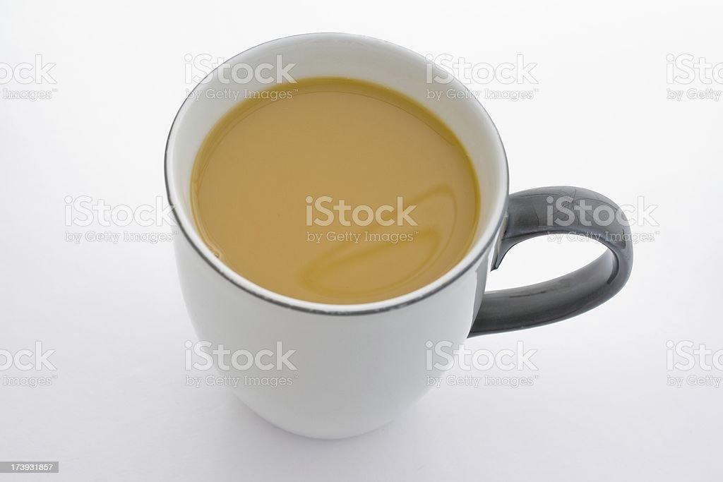 Coffee white - Milchkaffee royalty-free stock photo