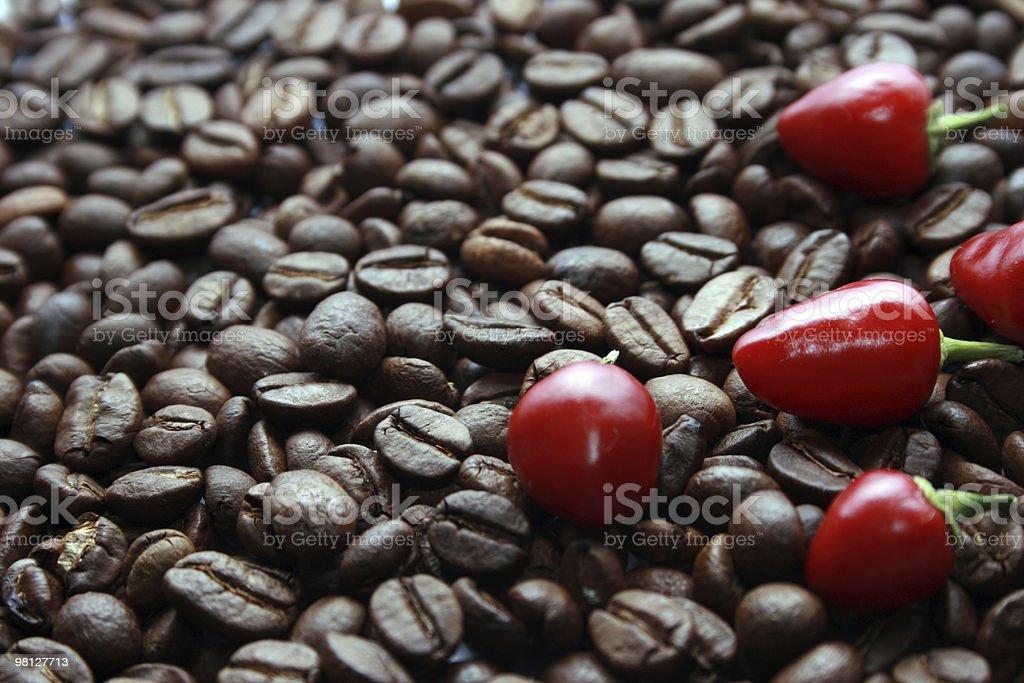 커피, 단고추 royalty-free 스톡 사진