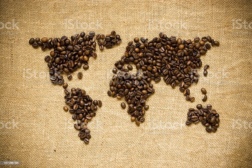Coffee world royalty-free stock photo