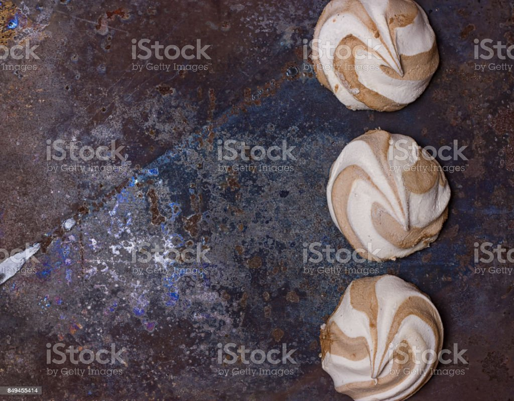 Coffee zephyr on a grunge stock photo
